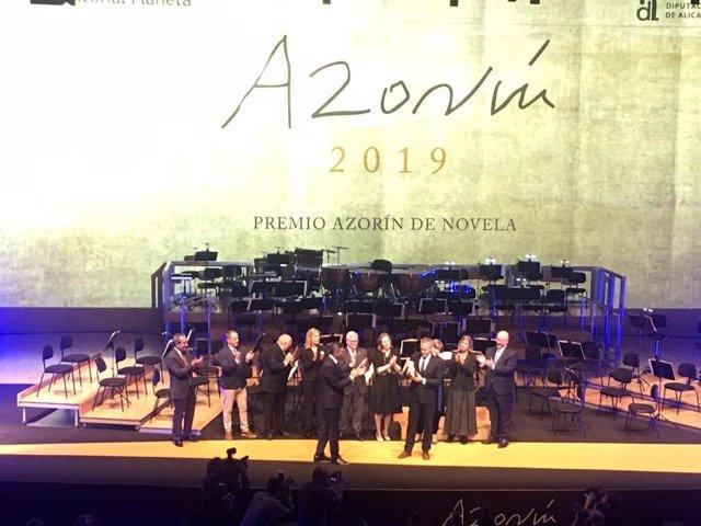 AV.- Cultura.- Joaquín Camps Torres gana el XXVI Premio Azorín de Novela con 'La