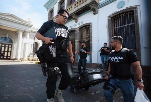 Costa Rica.- La Policía registra sedes de la Iglesia en Costa Rica por delitos s
