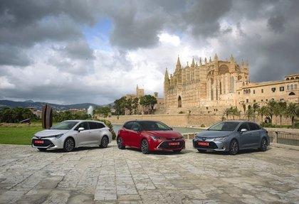 La nueva familia Toyota Corolla, ya disponible en España en sus tres variantes y con dos motorizaciones