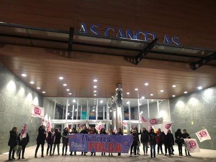 """Seguimiento """"elevado"""" de la huelga en las primeras horas del 8M en Galicia"""