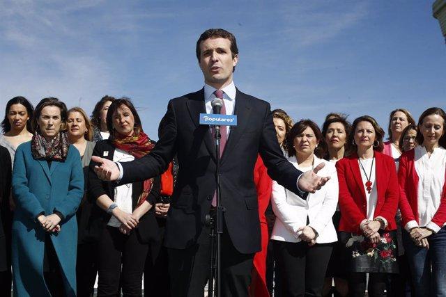 Acte a Madrid del PP amb les candidates populars a la presidència de comunitat