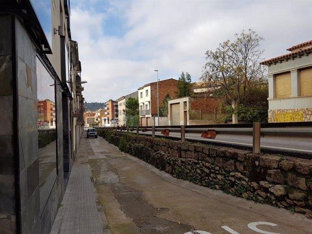 Comencen les obres per millorar la BV-1221 a Navarcles (Barcelona)