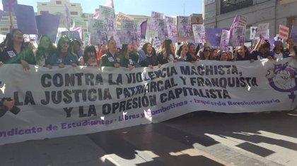 El Sindicato de Estudiantes cifra en más de dos millones los jóvenes que han secundado la huelga feminista