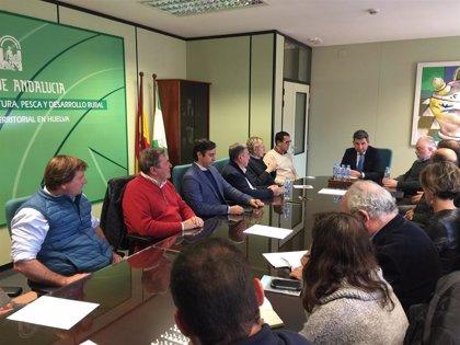 El delegado de Agricultura en Huelva inicia una ronda de contactos con los colectivos sectoriales