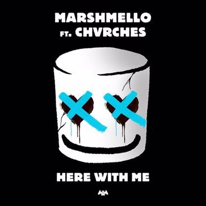 Escucha la luminosa colaboración pop de Marshmello con Chvrches