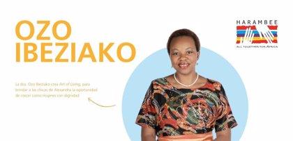 Ozo Ibeziako recibe el Premio Harambee 2019 a la Promoción e Igualdad de la Mujer Africana
