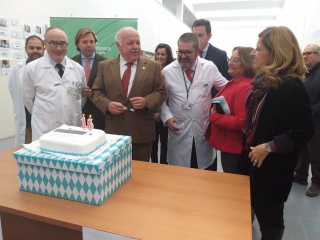 Córdoba.- Aguirre señala la eficiencia en listas de espera del modelo de hospita