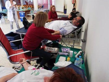El hospital Infanta Elena de Huelva acoge la primera colecta de sangre