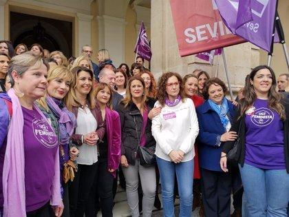 """Susana Díaz: La derecha quiere condenar la igualdad a una """"involución y regresión democrática"""""""