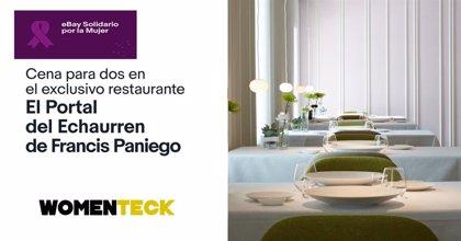 El cocinero riojano Francis Paniego colabora con Womenteck subastando  un cheque regalo para el Portal del Echaurren