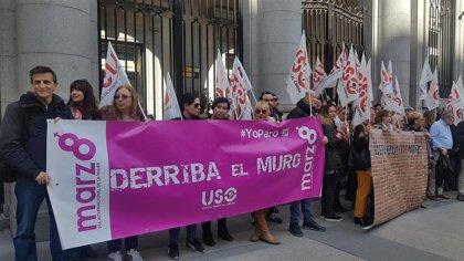 USO rechaza que se politice la lucha feminista y pide a los partidos trabajar unidos por los derechos de la mujer