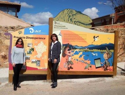 Teruel continúa extendiendo el proyecto Dinoexperience por el territorio