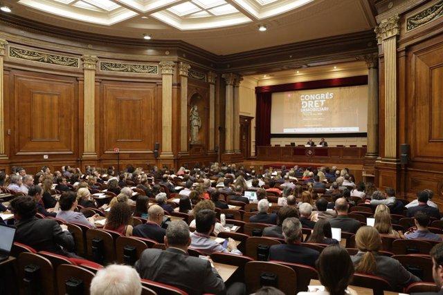 Congreso de Derecho Inmobiliario en Barcelona
