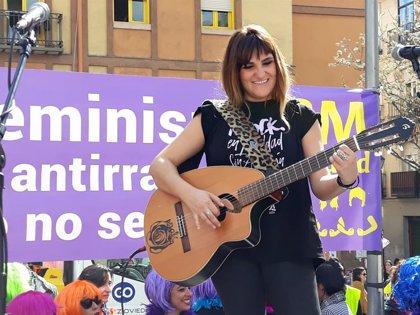 """Rozalén: """"No comprendo que haya partidos, incluidos los derechas, que no estén con la lucha feminista"""""""