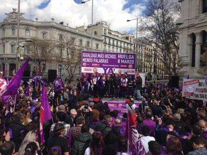 """CCOO Madrid subraya que el feminismo se ha convertido en un """"imparable motor de cambio"""""""