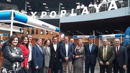 La Junta de Andalucía reafirma su apoyo a los chiringuitos en la inauguración de Expoplaya