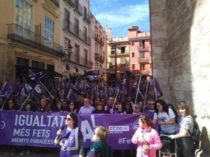 """León (CCOO PV): """"Este 8M está siendo de nuevo histórico en la reivindicación de las políticas de igualdad"""""""