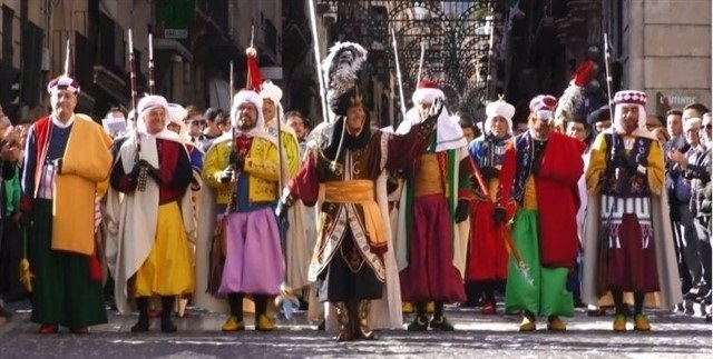 Imagen de archivo de los Moros y Cristianos de Alcoi