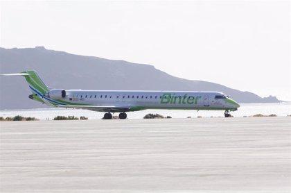 Binter lanza una nueva promoción con vuelos a Canarias a partir de 44,37 euros