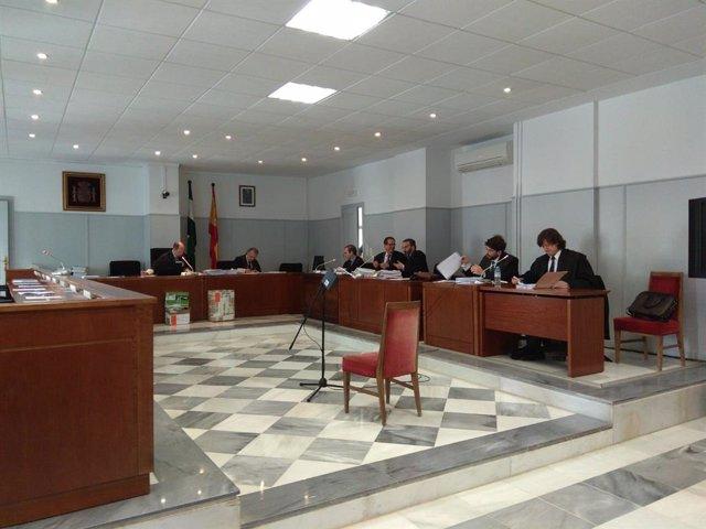 Almería.-Tribunales.-El acusado del crimen machista de Huércal dice no recordar