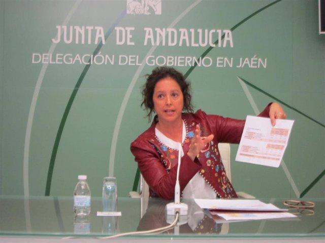 """Andalucía.-La viceconsejera de Salud pide al PSOE que por """"dignidad"""" se quede """"c"""