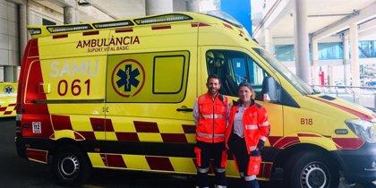 """El 061 incorpora a Palma una nova ambulncia en horari nocturn per """"disminuir el temps de resposta"""""""