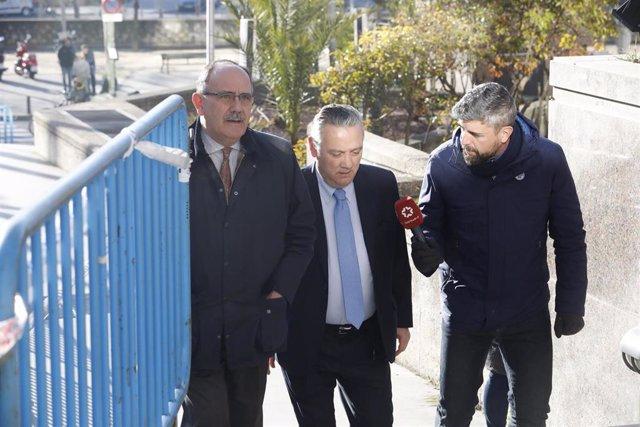Granados y Prada testifican en el juicio de los presuntos 'espías' a sueldo de l