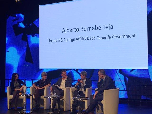 Bernabé resalta en la ITB los beneficios del turismo para Tenerife