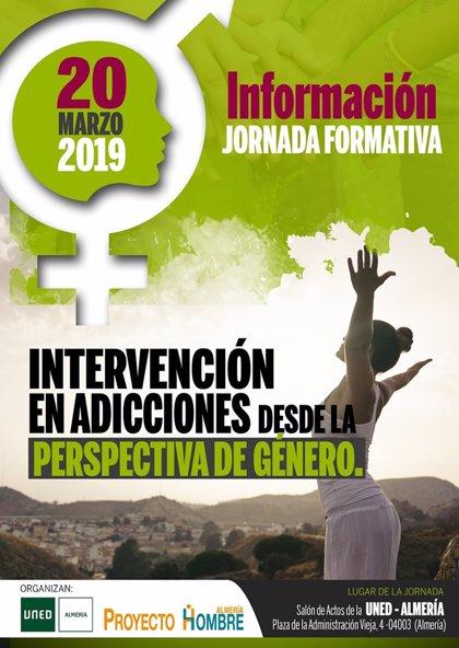 La UNED y Proyecto Hombre organizan una jornada sobre perspectiva de género el 20 de marzo