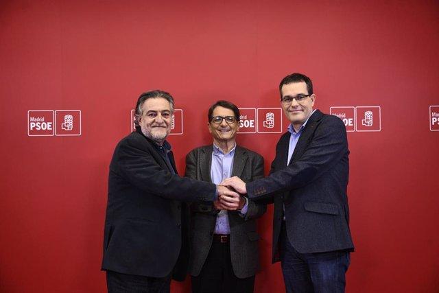 Debate entre los tres candidatos de las primarias del PSOE a la alcaldía de Madr