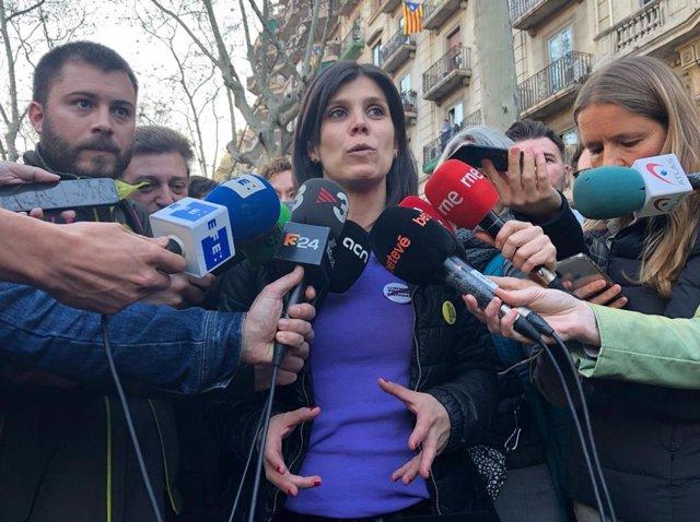 """8M.- Vilalta (ERC) Celebra El Éxito De La Huelga Y Ve """"Urgente"""" Acabar Con Las D"""