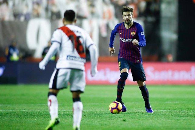 Soccer: La Liga - Rayo Vallecano v FC Barcelona
