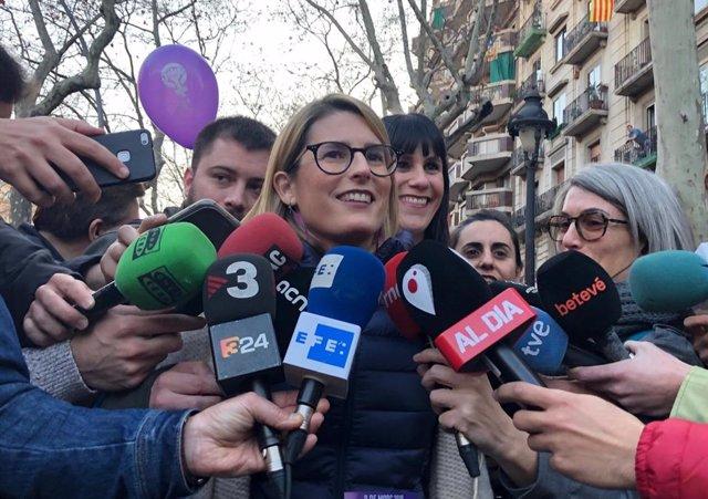 """8M.- Artadi Llama A Plantar Cara """"A Las Nuevas Amenazas"""" Que Hay Contra Las Muje"""