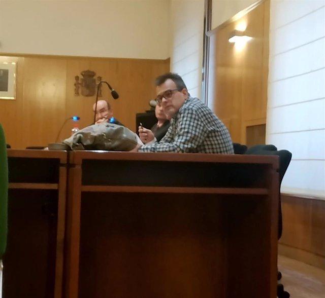 El 'Terre', durante el juicio celebrado en la Audiencia de Valladolid.