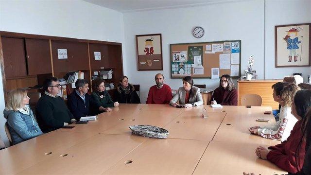 Málaga.- El colegio Nuestra Señora del Rosario de Cortes de la Frontera volverá