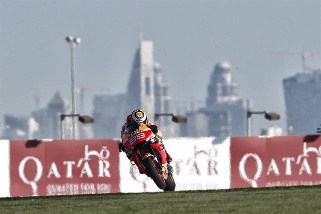 Motociclismo/GP Catar.- (Crónica) Márquez entra con todo en los libres de Losail