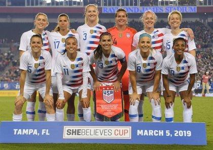 28 jugadoras de la selección estadounidense demandan a su federación por discriminación de género