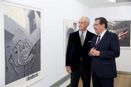 Presentada en la Fundación Cajasol de Sevilla la exposición 'Dos clausuras' de Pepe Cobo