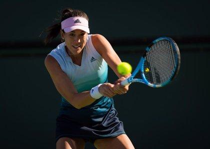 Muguruza capea su estreno con victoria en Indian Wells