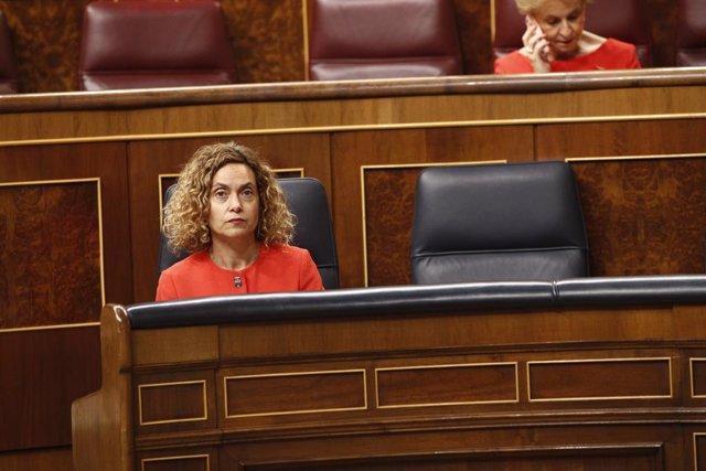 Pleno en el Congreso de los Diputados para la convalidación o derogación de Real