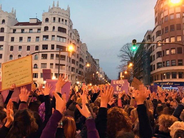 """8M.- Emakunde Se Felicita Por Una """"Jornada Histórica"""", Muestra Del """"Empoderamien"""