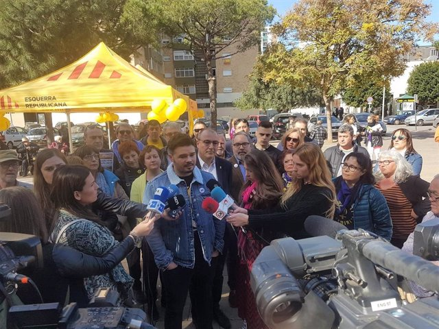 "Rufián reivindica a ERC como ""el dique real frente al bloque del 155"""
