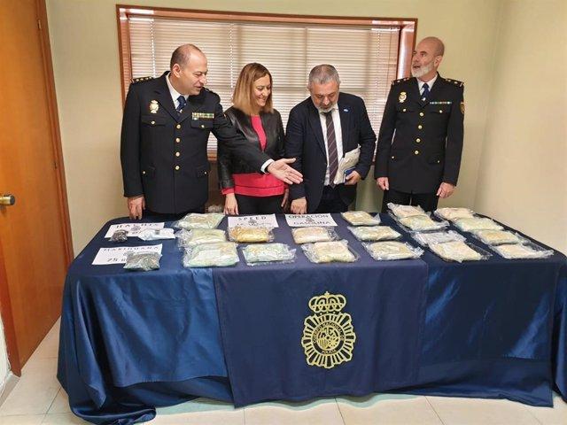 Sucesos.- Dos detenidos e incautados 15 kilos de speed en una operación policíal