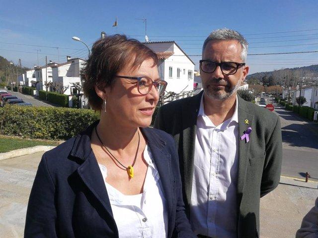 28A.- Montse Bassa Encapçalarà La Llista D'ERC A Girona Per al Congrés