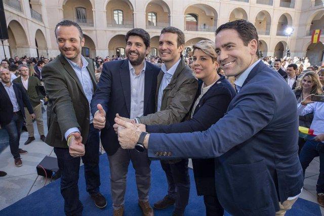 """Agua.- Casado: """"Con el PP vendrá el AVE y un PNA que garantice los recursos hídr"""