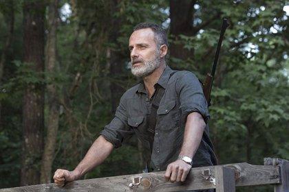 ¿Qué hace Andrew Lincoln en el rodaje de The Walking Dead?