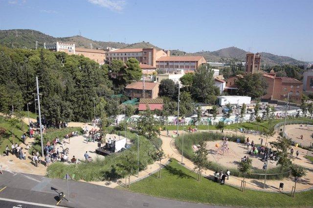 Dos nuevos espacios verdes en Horta-Guinardó
