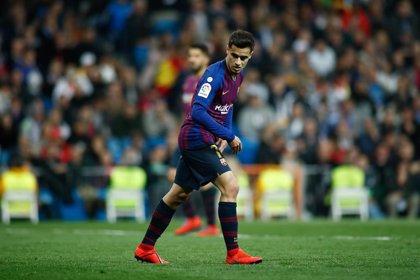 """Piqué: """"Coutinho está haciendo una buena temporada"""""""