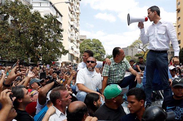 Venezuela.- Guaidó anuncia una nueva gira por el país y una marcha hacia Caracas