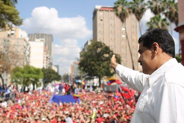"""Venezuela.- Maduro denuncia el uso de tecnología de EEUU para la """"guerra eléctri"""